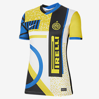 Inter Milan 2021/22 Stadium Fourth Fodboldtrøje til kvinder