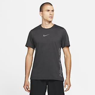 Nike Pro Dri-FIT Burnout Haut à manches courtes pour Homme