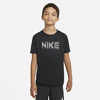 Nike Trophy Older Kids' (Boys') Short-Sleeve Graphic Top