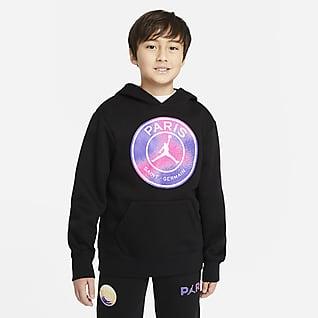 Paris Saint-Germain Belebújós kapucnis pulóver nagyobb gyerekeknek (fiúknak)