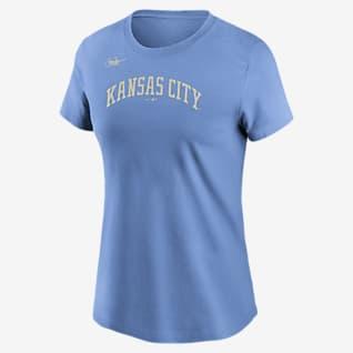 Nike Cooperstown Wordmark (MLB Kansas City Royals) Women's T-Shirt