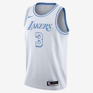 Los Angeles Lakers City Edition Nike NBA Swingman-drakt