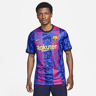FC バルセロナ 2021/22 スタジアム サード メンズ ナイキ Dri-FIT サッカーユニフォーム