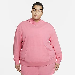 Nike Sportswear Women's Washed Hoodie (Plus Size)
