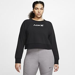 Nike Trænings-crewtrøje til kvinder (Plus Size)