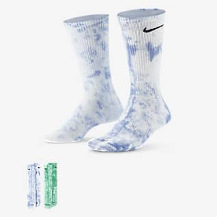 Nike Everyday Plus Calcetines largos de teñido batik (2 pares)