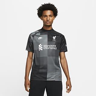 Liverpool F.C. 2021/22 Stadium Goalkeeper Men's Football Shirt
