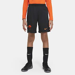 AS Roma 2020/21 Stadium alternativo Shorts de fútbol para niños talla grande