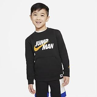 Jordan Mikina skulatým výstřihem pro malé děti