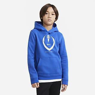 Nike Club Sudadera con capucha de fútbol para niño talla grande