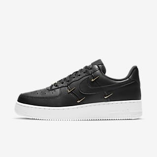air force 1 altas negras