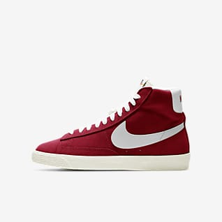 Nike Blazer Mid Suede Older Kids' Shoe