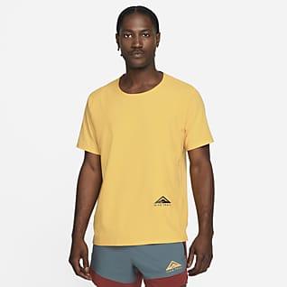 Nike Dri-FIT Rise 365 Camisola de running de manga curta para trilhos