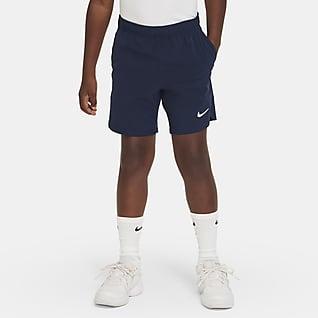 NikeCourt Flex Ace Shorts de tenis para niño talla grande