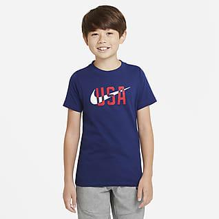 U.S. Playera para niños talla grande