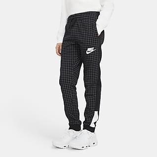 Nike Sportswear Pantalones de vellón para niños talla grande