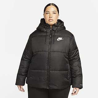Nike Sportswear Therma-FIT Repel Kadın Ceketi (Büyük Beden)