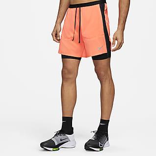 Nike Flex Stride Run Division Hybride hardloopshorts voor heren