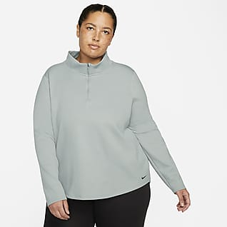 Nike Therma-FIT One Women's Long-Sleeve 1/2-Zip Top (Plus Size)