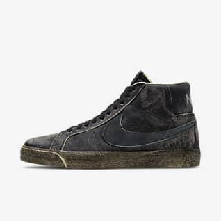Nike SB Zoom Blazer Mid PRM 男/女滑板鞋