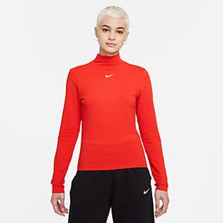 Nike Sportswear Collection Essentials Camisola de manga comprida com gola subida para mulher
