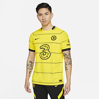Chelsea FC 2021/22 Match (bortaställ) Fotbollströja Nike Dri-FIT ADV för män