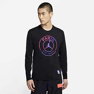 巴黎圣日耳曼 男子长袖T恤