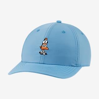Nike SB หมวกสเก็ตบอร์ดปีกเรียบมีกราฟิก