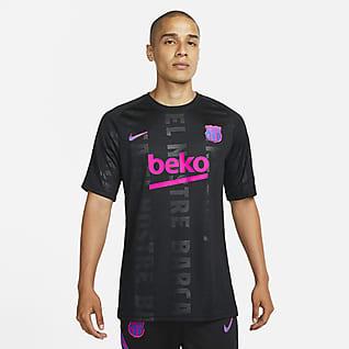 FC Barcelona Top de fútbol para antes del partido para hombre Nike Dri-FIT