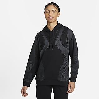 Nike City Ready Γυναικεία μπλούζα προπόνησης με κουκούλα