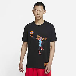 LeBron x Space Jam: A New Legacy 男款 Nike Dri-FIT 籃球 T 恤