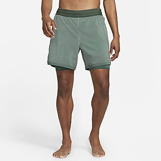 Nike Yoga Dri-FIT Shorts 2-in-1 - Uomo