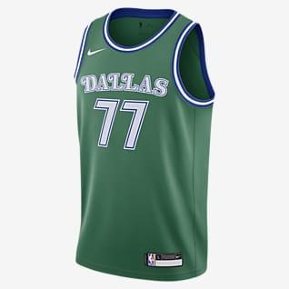 Luka Dončić Mavericks Classic Edition Nike Swingman NBA Swingman Jersey för ungdom