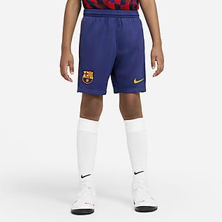 F.C. Barcelona 2020/21 Stadium Home/Away Older Kids' Football Shorts