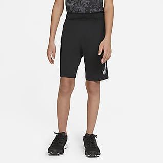 Nike Dominate 圖樣 大童 (男童) 短褲