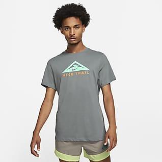 Nike Dri-FIT Běžecké tričko do terénu skrátkým rukávem