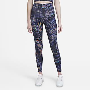 Nike Sportswear Leggings de cintura alta para danza para mujer