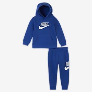 Nike Conjunto de sudadera con capucha y pantalones de entrenamiento para bebé (de 12 a 24 meses)