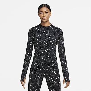 Nike Flash Dámské běžecké tričko sdlouhým rukávem