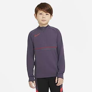 Nike Dri-FIT Academy Camiseta de entrenamiento de fútbol para niños talla grande