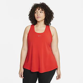 Nike Dri-FIT One Luxe Women's Standard Fit Racerback Tank (Plus Size)
