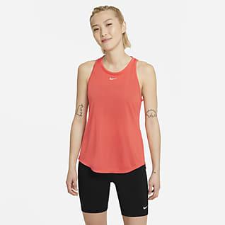Nike Dri-FIT One เสื้อกล้ามทรงมาตรฐานผู้หญิง
