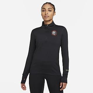 Nike Dri-FIT Element Chicago Prenda para la parte superior con medio cierre para mujer