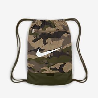 Nike Brasilia ถุงผ้าสำหรับยิมลายพราง