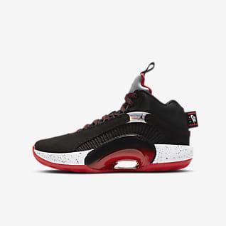 Air Jordan XXXV รองเท้าบาสเก็ตบอลเด็กโต