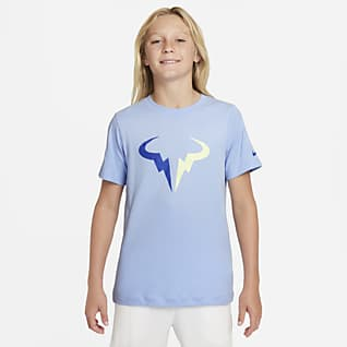 NikeCourt Dri-FIT Rafa  Playera de tenis para niño talla grande