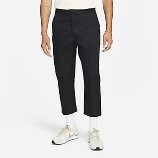 Nike Sportswear Style Essentials กางเกงขายาวใส่กับสนีกเกอร์ไม่มีซับในผู้ชายแบบทอ