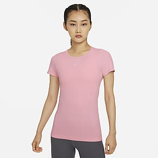 Nike Dri-FIT ADV Aura เสื้อแขนสั้นทรงเข้ารูปผู้หญิง