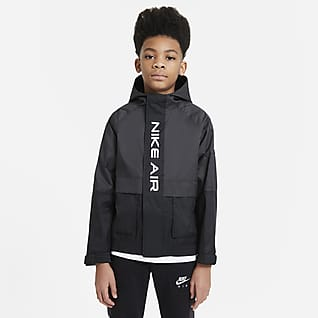 Nike Air Vevd jakke til store barn (gutter)