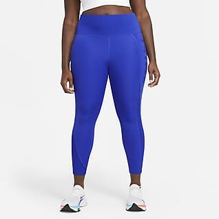 Nike Air Epic Fast Leggings de running de 7/8 de largo para mujer (talla grande)